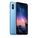 "Xiaomi Redmi Note 6 Pro Blue, 6.26 "", IPS LCD, 1080 x 2280 pixels, Qualcomm Snapdragon, 636, Internal RAM 4 GB, 64 GB, microSD, Dual SIM, Nano-SIM, 3G, 4G, Main camera Dual 12+5 MP, Secondary camera Dual 20+2 MP, Android, 8.1, 4000 mAh"