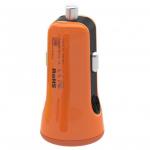 Automobilinis telefono kroviklisBaseus Tiny Car Charger CCALL-CR07, oranžinis