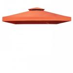 Pavėsinės stogo danga Livorno 300x300, oranžinė