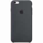 Apple iPhone 6s Silicone Case Charcoal Gray (MKY02ZM/A)