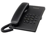 Laidinis telefonas Panasonic KX-TS500FXB, juodas