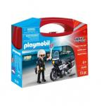 Konstruktorius Playmobil, Policijos lagaminas, 5648